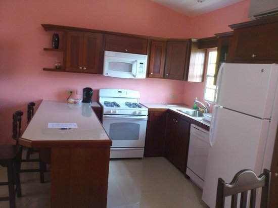 Piarco Village Suites :                   Kitchen/dining area