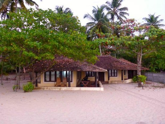 OG's Beach Bungalow:                   View of the property from the waters edge