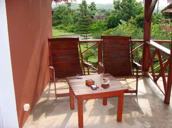 Orangea Village :                   terrazza