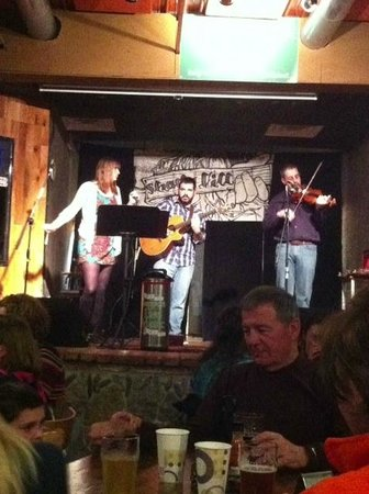 Short's Brewing Company:                   The band playing was Shady Hill