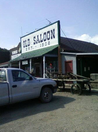 Old Saloon:                   Saloon Front