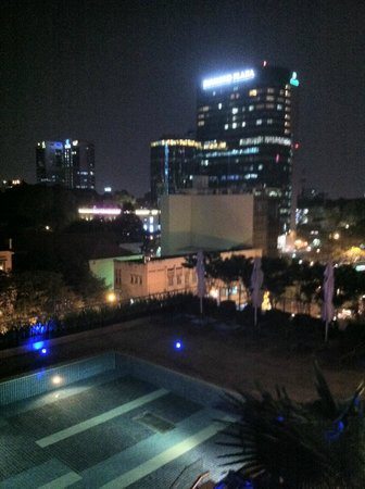 InterContinental Asiana Saigon:                   view from the fitness centre