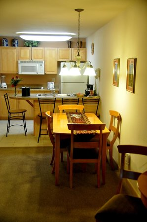 Enjoy your suite at Mill Creek Hotel