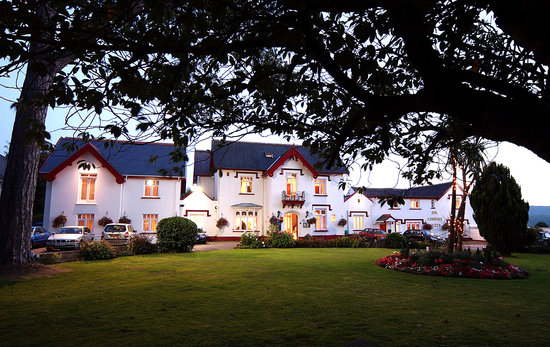 Heywood Spa Hotel: Front hotel
