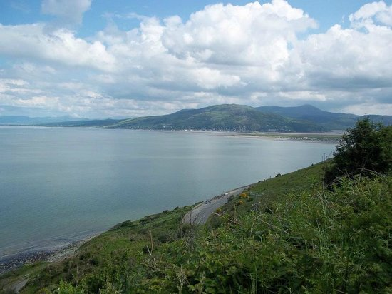 Prysgoed: Cardigan Bay, taken from the Village, Wales coastal Path