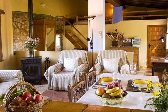 Casa rural El Corral, salita