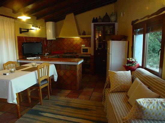 Casa rural El Corral : Casa rural El Corra, cocina