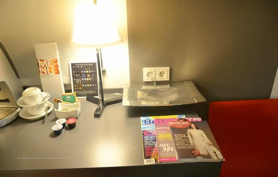 Tryp Berlin Mitte Hotel:                   Magazine Selection