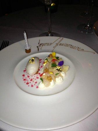 Le Restaurant :                   Geburtstagsüberraschung