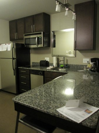 Residence Inn Boston Logan Airport/Chelsea:                                     kitchen