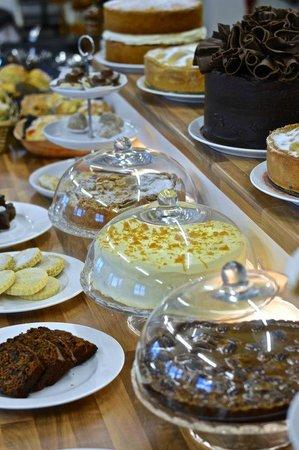 Leona's Tea Room & Bakery: A selection of home-baked cakes and traybakes