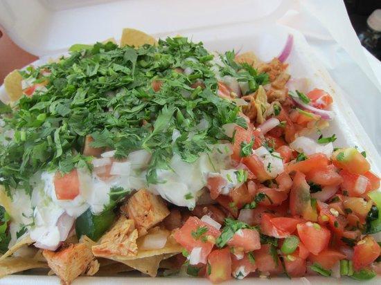 Freebird's World Burrito:                   Nachos