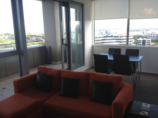 The Chatham Auckland:                                     living areas