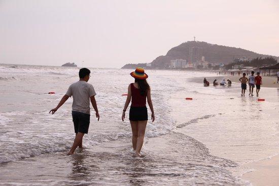 DIC Star Hotel:                   Vung Tau beach