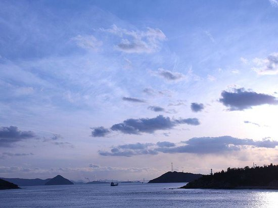 Naoshima:                   Ferry ride