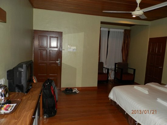 Malibest Resort:                   Our room