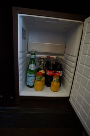 Lausanne Palace & Spa:                   complementary minibar