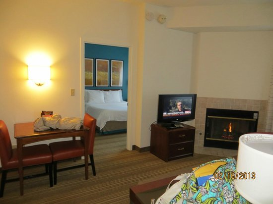 Residence Inn by Marriott Asheville Biltmore:                   2 bedroom fireplace suite