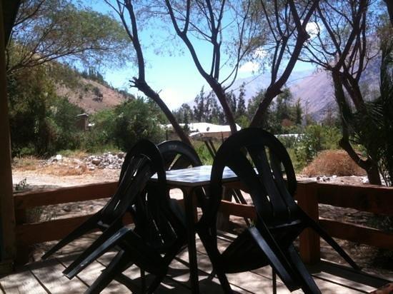 Hosteria Los Datiles :                   terrasse