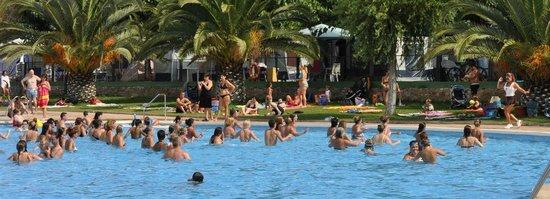 Camping Resort-Bungalow Park Mas Patoxas: Aquagym