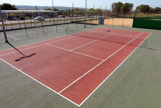 Camping Resort-Bungalow Park Mas Patoxas: Pista de Tennis
