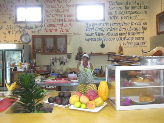 Toad Hall Hotel Arenal:                   The Kitchen at Toad Hall