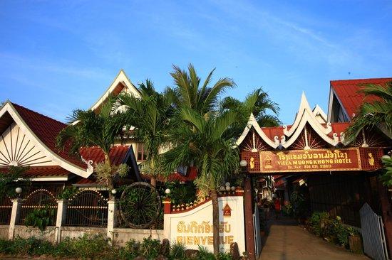 Villa Muong Khong Hotel:                   l'entrée