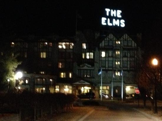 The Elms Hotel and Spa:                   night view