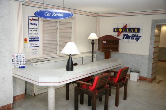 Sapphire Beach Club Resort: Car Rental Desk