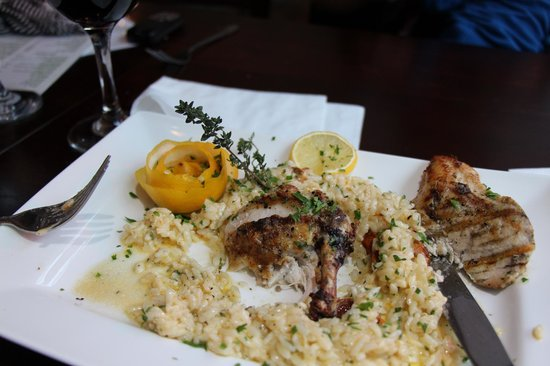 Olive & Thyme:                   Lemon & Thyme Chicken Risotto