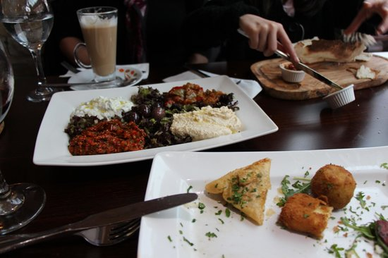 Olive & Thyme:                   Mouth-watering Mezes
