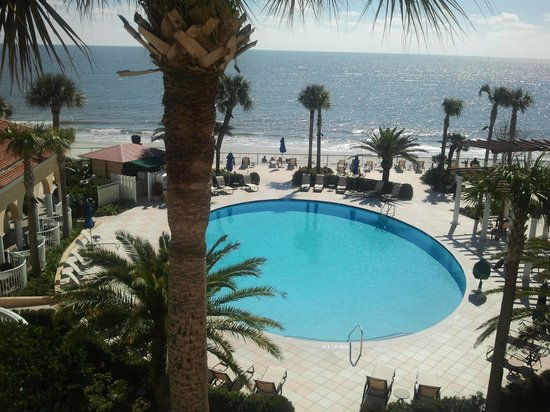 The King and Prince Beach and Golf Resort:                   Pool and Ocean
