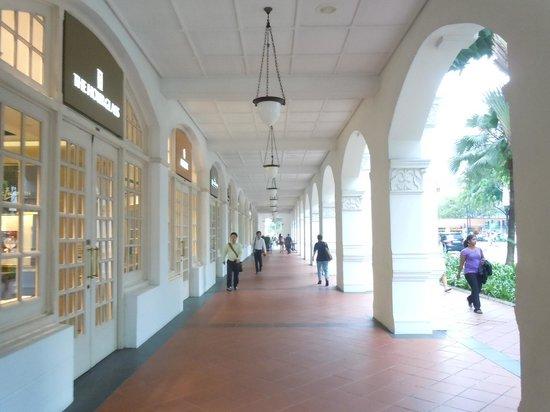 Raffles Hotel Singapore:                   Hotel Shops