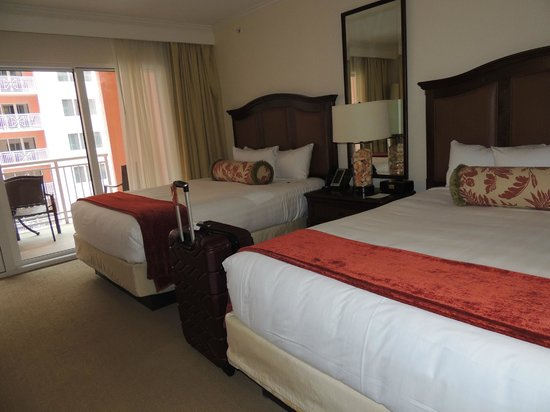 Hyatt Regency Clearwater Beach Resort & Spa:                   bedroom