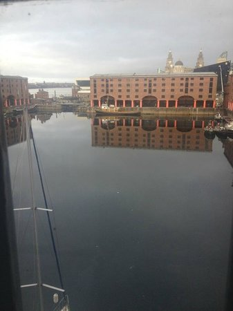 Premier Inn Liverpool Albert Dock Hotel:                   The view from our room