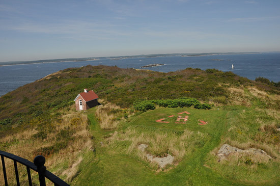 Seguin Island and Lighthouse :                   Seguin view