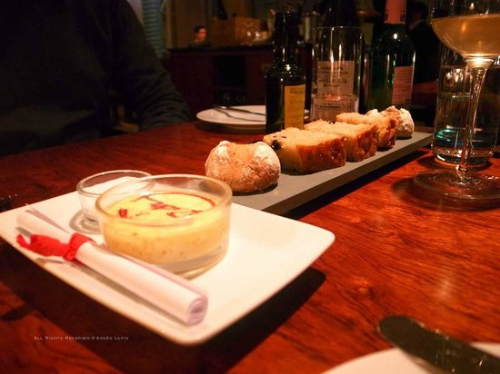 Rutz Restaurant - Weinbar:                   Bread and Butter