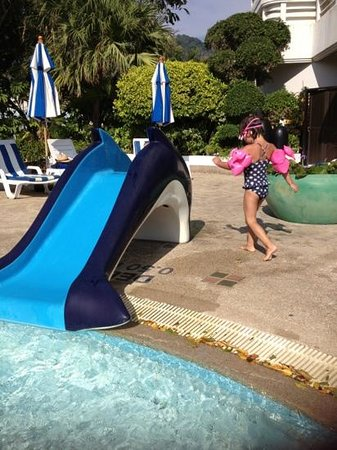 Andaman Beach Suites Hotel:                   kids slide