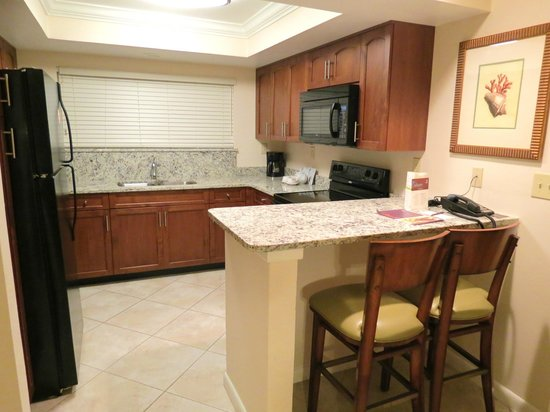 Sheraton Vistana Resort - Lake Buena Vista:                   Kitchen area
