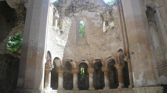 Ishan Church:                   Still standing apse of İşhan Church