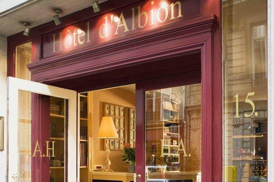 Hotel D'albion: Entrée