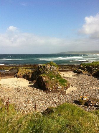 The Ugadale Hotel & Cottages:                                     machrihanish beach