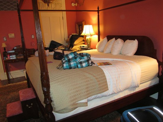 The Inn on Negley:                   Bed...of course :)