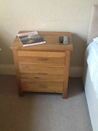 The Crown Hotel: Bedside Table