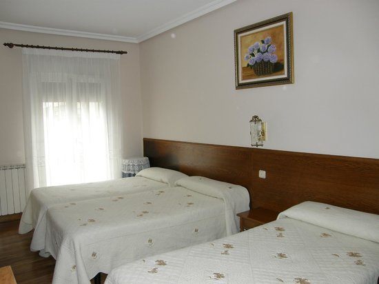 Pension Urkia:                   Our room