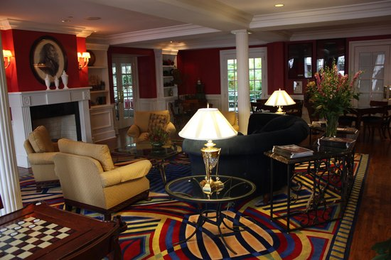 The Marshall House:                   Lounge area in the hotel