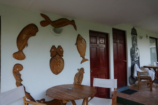 Hotel Vai Moana:                   Décor d'un bungalow