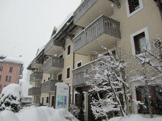 Pierre & Vacances Premium Residence La Ginabelle:                   buiten