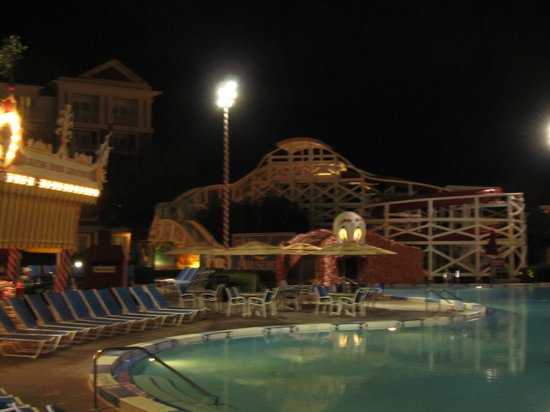 Disney's BoardWalk Villas:                   Pool area