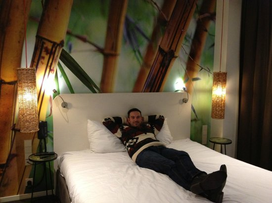 Conscious Hotel Vondelpark:                   Room in conscious hotel, vondelpark